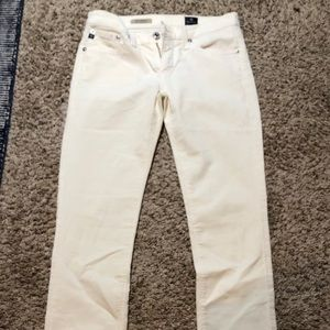 WINTER White AG corduroy slim fit jeans